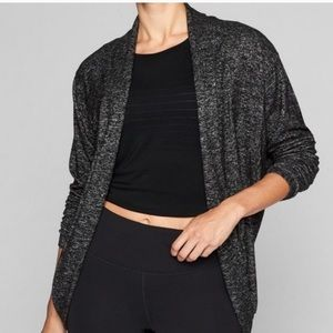 Athlete Luxe Pose Wrap Cardigan
